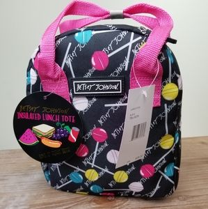 NWT Betsy Johnson lunch bag